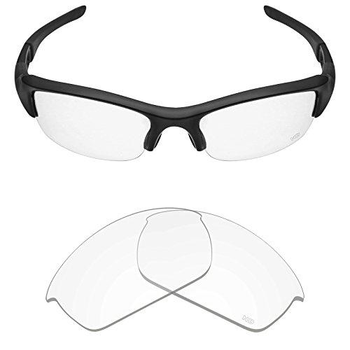 Mryok+ Polarized Replacement Lenses for Oakley Flak Jacket - HD - Jacket Flak Clear Lenses