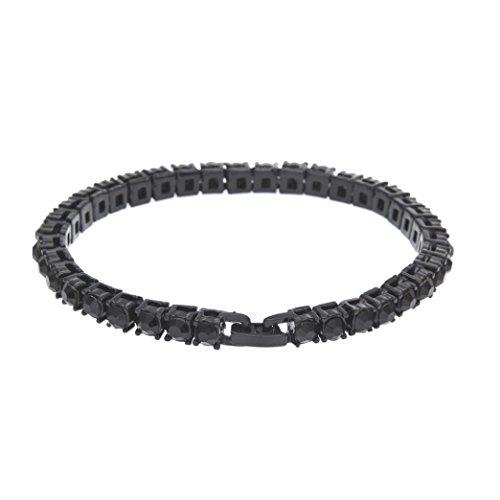 Napoo Women Men Handmade Charm 8 Knot Shape Simple Infinity Bracelet Jewelry Gift (A)