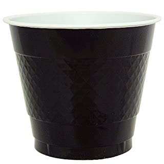 Hanna K. Signature Collection 50 Count Plastic Cup, 9-Ounce, Black (B005JE02WS) | Amazon price tracker / tracking, Amazon price history charts, Amazon price watches, Amazon price drop alerts