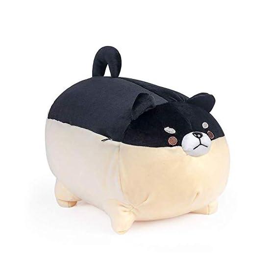Shiba Inu Plush | Black Dog Plush Pillow | By Auspicious Beginnings 2
