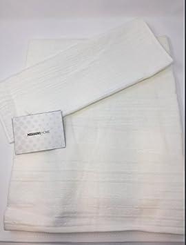 Par 1 + 1 de esponja Missoni Home Art. Kian (toallas de Viso cm 70 x 115 + 1 toalla 50 x 70) Varios colores: Amazon.es: Hogar