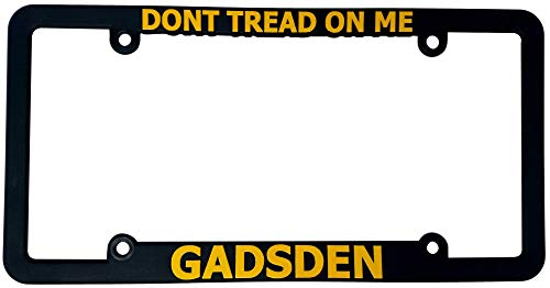 gadsden license plate frame - 6
