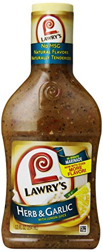 Lawry's 30-Minute Marinade, Herb & Garlic with Lemon Juice, 12 oz