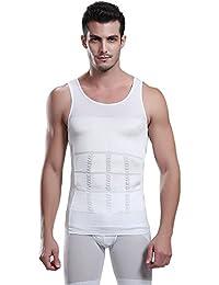 "<span class=""a-offscreen"">[Sponsored]</span>Men's Body Shaper Slimming Shirt Tummy Waist Vest Shirt Compression Vest for Men"