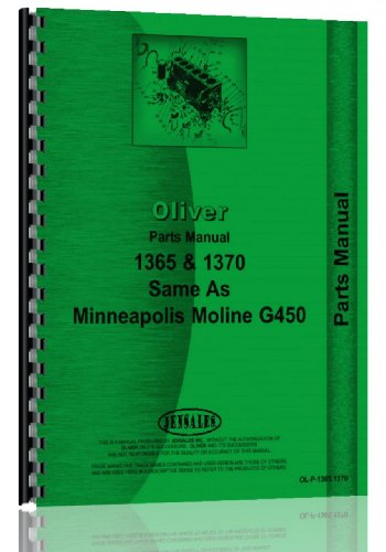Oliver 1365 Tractor Parts (Oliver Manual)