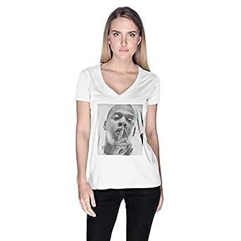 Creo Jay Z T-Shirt For Women - M, White