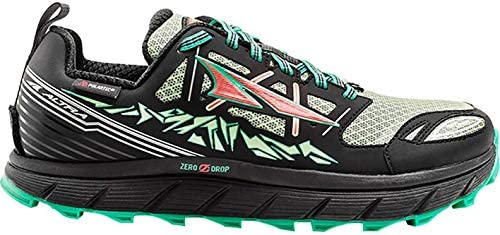 Altra Footwear Women s Lone Peak 3.0 Neoshell Trail Running Shoe,Black Mint,US 6