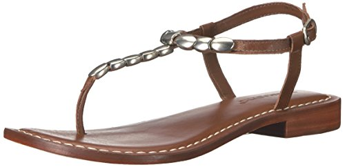 Bernardo Tristan Flat Sandal Luggage Voor Dames
