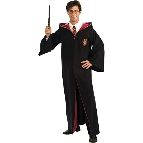 Deluxe Harry Potter Robe Costume - Standard - Chest Size (Adult Harry Potter Robes)