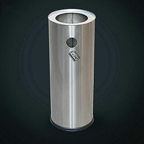 Cubos de basura de acero inoxidable Cubeta de reciclaje de ...