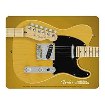 delicate MSD Mouse Pad Natural Rubber Mousepad IMAGE of music guitar