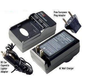 (Fuji NP-45 AC / DC Replacement Battery Charger Kit for Fuji FinePix Z100FD / Z10FD / Z200FD / Z20fd / Z30 / Z300 / Z33 / Z33WP / Z37 /)