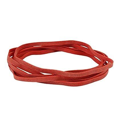 Dehnbar Haushaltsgummis zum B/ündeln Verschiedene Durchmesser Gummiringe rot Gummib/änder 1 kg Beutel Fixieren oder Basteln // 30 mm