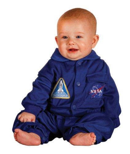 Jr. Flight Suit, Size 6 to 12 Months Blue]()