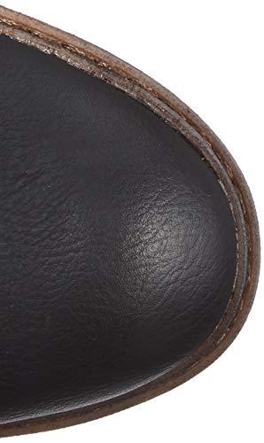 Rieker Donna black Nero 00 Stivali Alti schwarz grey 94751 rtOwqZr