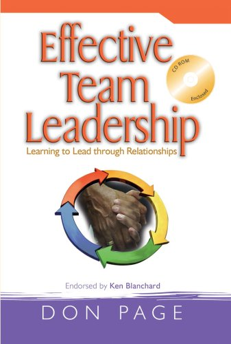 Effective Team Leadership: Learning to Lead through Relationships ebook