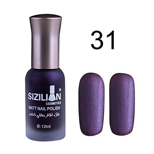 12ml Smalto Smalto Unghie 31 Chiodo Opaco Art Opaca E 20 Durata Zolimx Veloce Colori Nail Opaco Lunga 1qdCIq