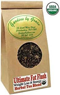 Ultimate Fat Flush, Weight Loss, Detox, Cleanse, Metabolism Booster, Appetite Suppressant, Cellulite Release, Fat Burner, Organic, Slimming, Loose Leaf,
