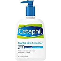 2 Pack Cetaphil Daily Facial Cleanser, 16.0 -Ounce (Normal to oily skin)
