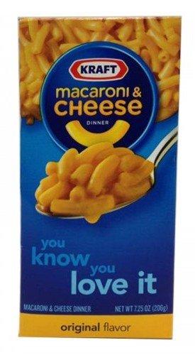 Kraft MACARONI & CHEESE OIGINAL FLAVOR 206 G. (PACK 3)