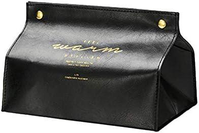 APISMYWF Caja de pañuelos de cuero de la PU casera Antihumedad Servilleta rectangular de papel de seda Caja de caja Servilletero de oficina para el hogar 20x12x12.5cm: Amazon.es: Bricolaje y herramientas