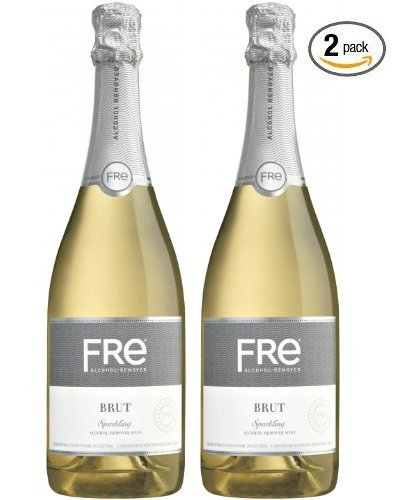 Sutter Home Fre Brut Non-alcoholic Champagne Wine Two Pack (Pack of 2) by Sutter (Brut Wine)