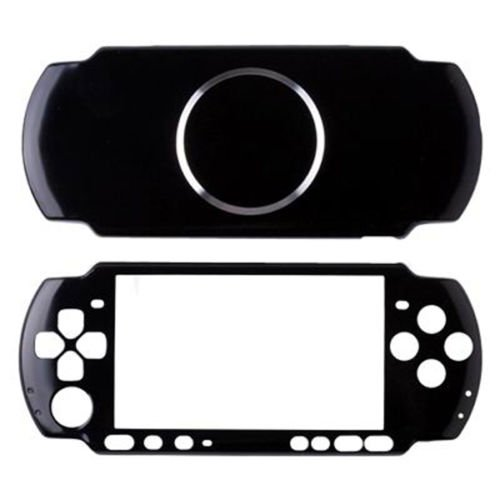 (Vivi Audio Protector Travel Carry Aluminum Hard Cover Case Shell For Sony PSP 3000 Console (Black))