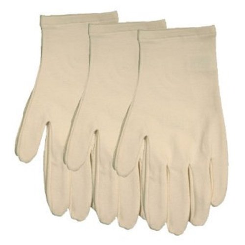 Ecoland Women's Organic Cotton Moisturizing Gloves - 3 Pack Value