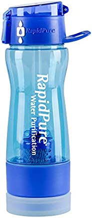 Rapid Pure Rapidpure Intrepid Water Bottle Purifier - Personal Water Filter Purifier for Hiking and Travel 25