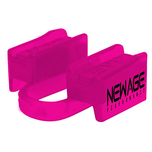 New Age Performance 6DS Sports And Fitness Weight-Lifting Mouthpiece - Lower Jaw - No-Contact - Includes Case - Pink
