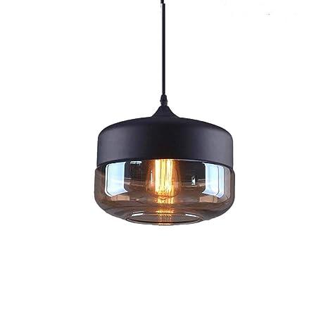 PoJu Retro Luz de Techo Vintage Diseño Industrial Lámpara de ...