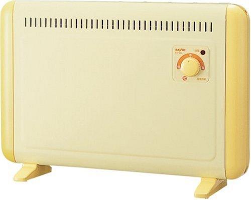 SANYO ミニパネルヒーター 床置や壁掛もできる R-P326-Y