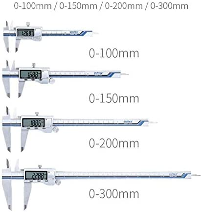 Caliper Vernier Caliper Vernier Caliper All Metal Stainless Steel Caliper 0-100Mm/150Mm/200Mm/300Mm (Size : 0-150MM)