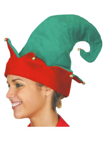 Will Ferrell Halloween Costumes (Jacobson Hat Company Adult Elf Hat)