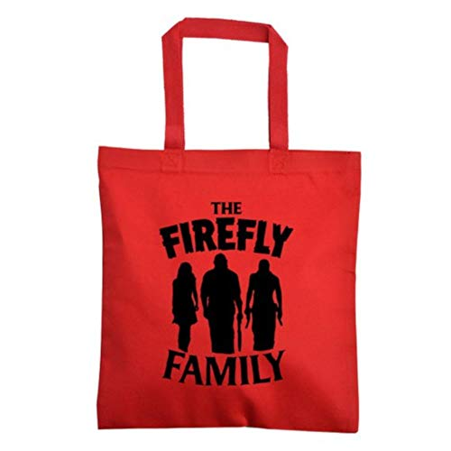 Devil's Rejects 3 From Hell House 1000 Corpses Rob Zombie Firefly Sci Fi Horror Canvas Tote Bag Merch Massacre