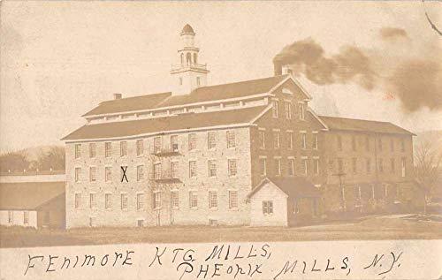 Phoenix Mills Index New York Fenimore Ktg Mills Real Photo Postcard ()