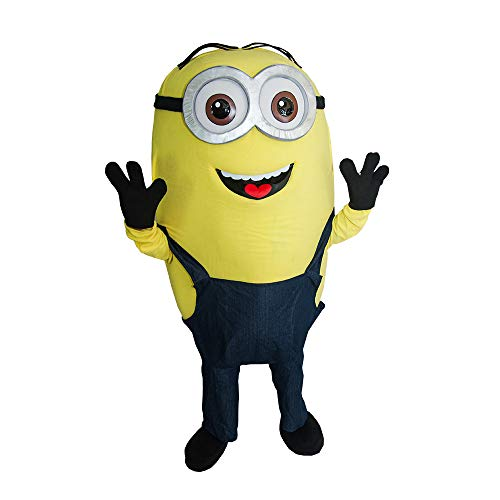 (Tim The Minion Mascot Costume Character Party Birthday)