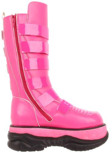 Demonia - Botas hombre hot pink