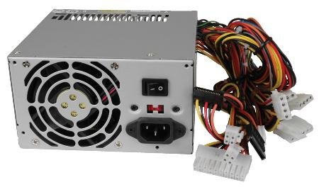 Sparkle Power Atx 350 Watt Power Supply With Ball Bearing Fan Short–Circuit Protection