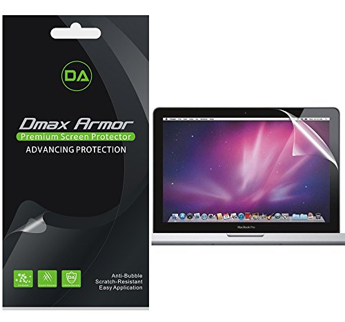 3-Pack-Dmax-Armor-Apple-MacBook-Pro-13-2013-Screen-Protector-High-Definition-Clear-Shield-Lifetime-Replacements-Warranty-Retail-Packaging