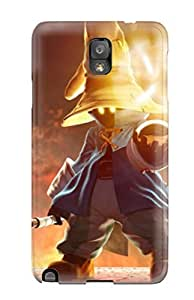 New Style NikRun Final Fantasy Vivi Premium Tpu Cover Case For Galaxy Note 3