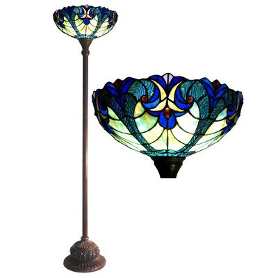 Victorian Torchiere Floor Lamp w 15 In. - Tiffany And Co Online Cheap