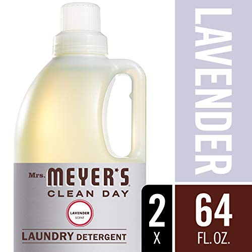 Mrs. Meyer's Laundry Detergent, Lavender, 64 fl oz