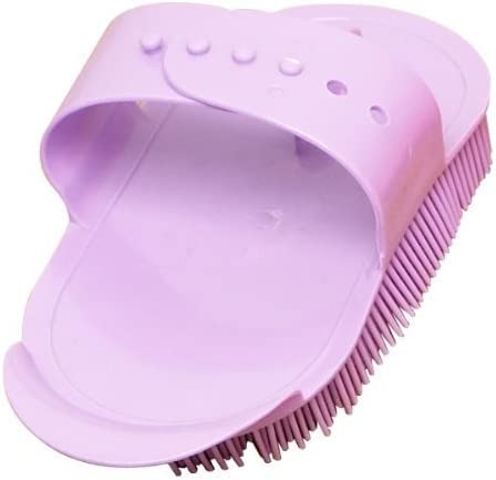 Pink Plastic Curry Comb