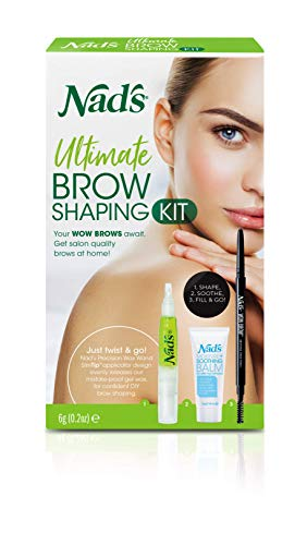 NAD'S NEW Ultimate Brow Shaping Kit (Eyebrow Shaping Kit)