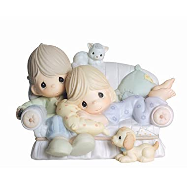 Precious Moments, Valentine's Day Gifts,  Together Is The Nicest Place To Be , Bisque Porcelain Figurine, #4003175