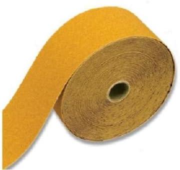 Powertec 2-3//4 inch 80 Grit Aluminum Oxide Sanding Sandpaper Sander Sheet Roll