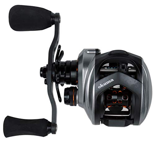 Okuma Fishing Tackle Okuma Helios SX Lightweight Low Profile Baitcast Reel- (Left Hand, 7.3:1 Gear Ratio) Okuma Helios SX Lightweight Low Profile Baitcast Reel- (Left Hand, 7.3:1 Gear Ratio)