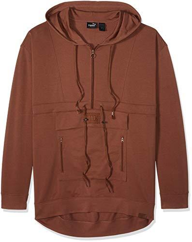 - PUMA Men's Fenty Sweatsuit Pullover, Friar Brown, L