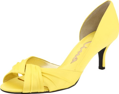 Women's Canary Bridal Culver Pump Satin Nina Luster P7ZzwZq